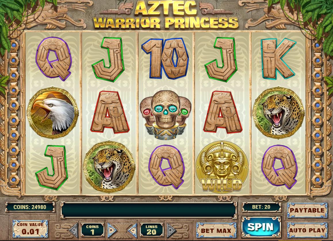 Aztec Warrior Princess - Casumo Casino