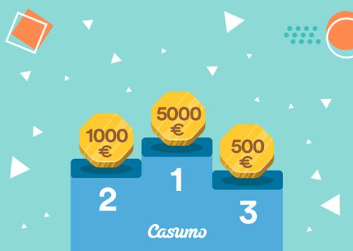Casumon Kolikkoralleissa parhaat palkinnot kesäkuussa