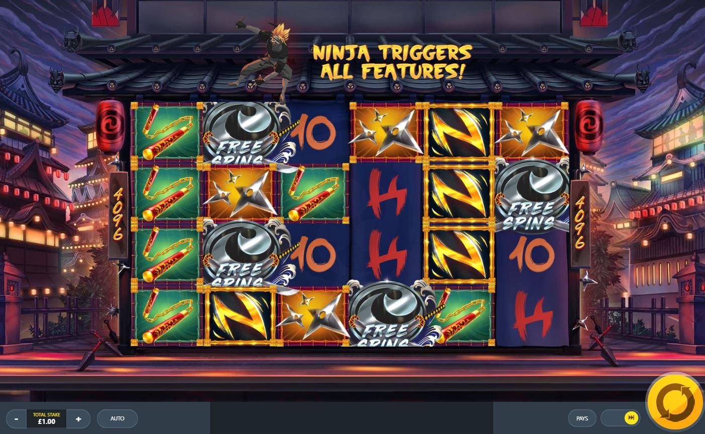 ninja ways slotti