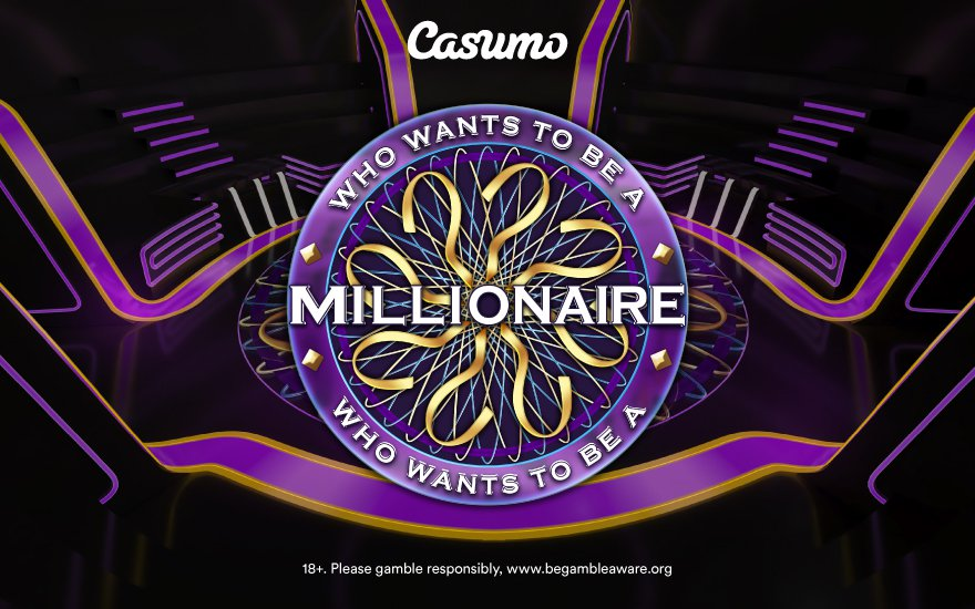 Casumo Who wants to be a millionaire