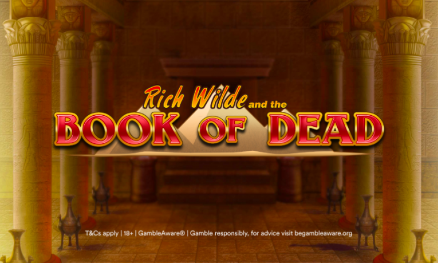 book of dead casumo