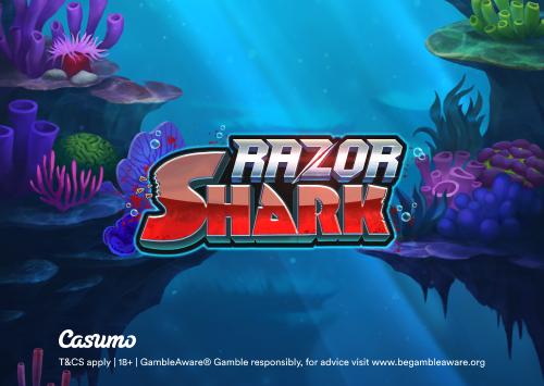 razor shark casumo