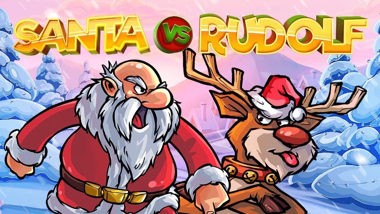 Santa vs Rudolf slotti