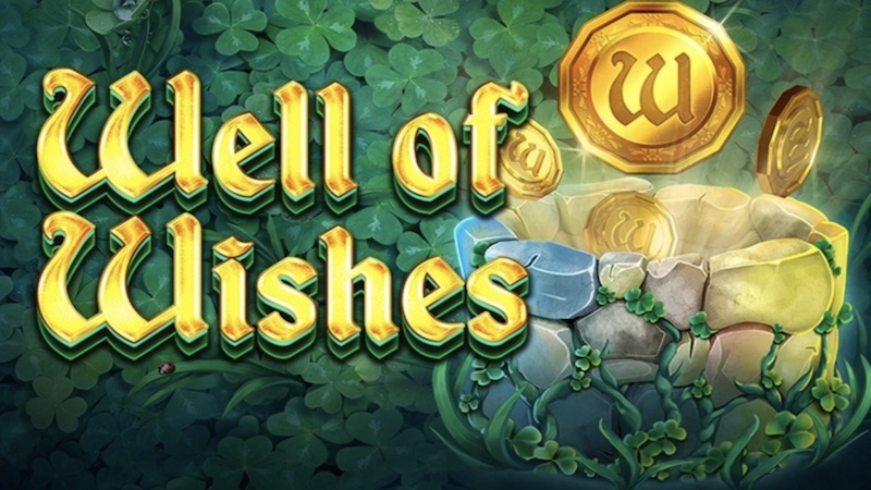 well of wishes slotti logo
