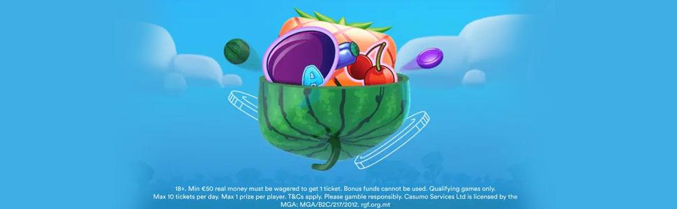 Casumon hedelmäpelit