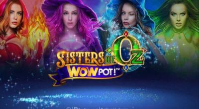 Sisters of Oz WowPot Slotti